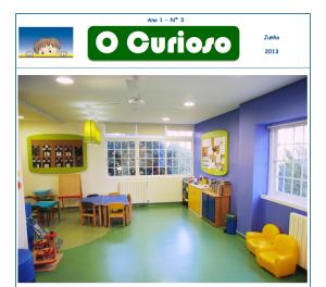 Terceira edição do jornal O Curioso