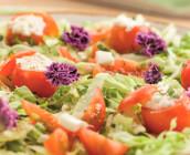 receita tomatinhos com queijo fresco