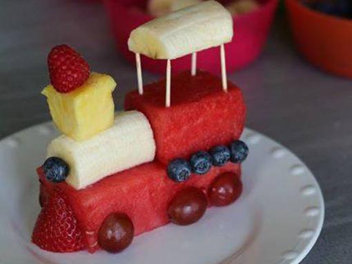 comboio de frutas