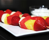 espetadinhas de fruta