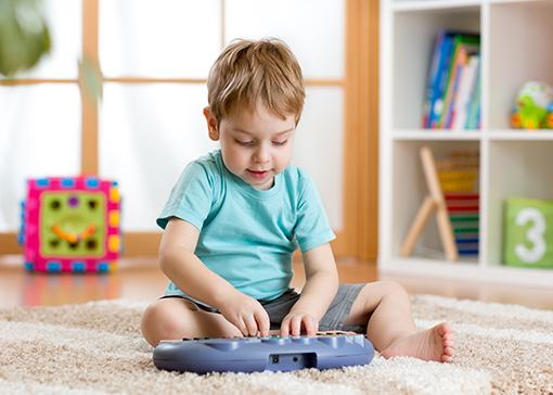 a importancia da musica para as criancas